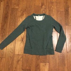 Green lululemon sweatshirt